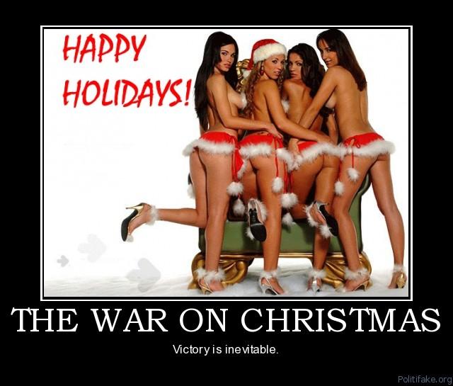 WAR ON CHRISTMAS – The Burning Platform