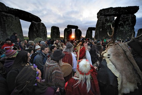 "Theses are the Pagan rituals for ""Solstice"" that the atheists plan on using to replace Christmas."
