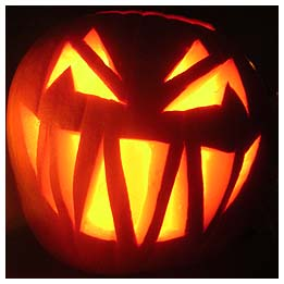 Jack o'lanterns are of the Devil.