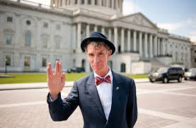 Bill Nye, an agent of spreading the lies of evolution to the public, is also a follower of the Star Trek cult.