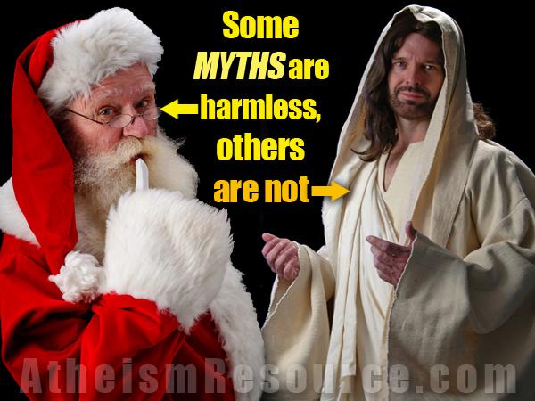 santa vs jesus - Santa And Jesus