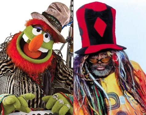Proof that the George Clinton has infiltrated the muppets.