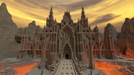 This ungodly Satanic castle is of the Devil!