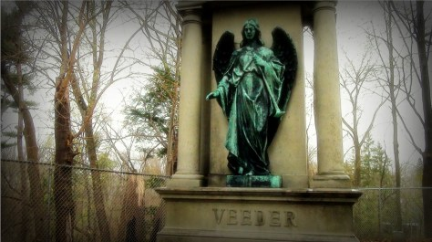 This angel statue in Schenectady's Vale Cemetery is loved by satanists and pagans.