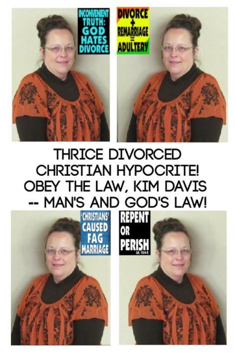 God Hates Kim Davis!
