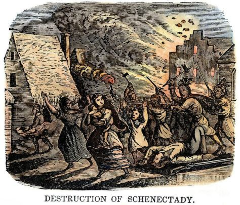 God allowing the heathens to destroy Schenectady just like he allowed the Babylonians to take the Jews captive.
