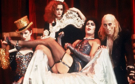 This ungodly motley crew means one thing. The Rocky Horror Satan Show is in town!